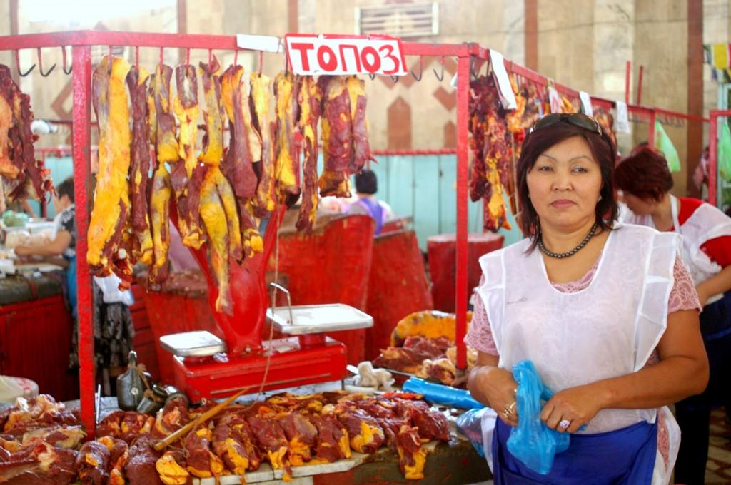 Markt in Kirgisien