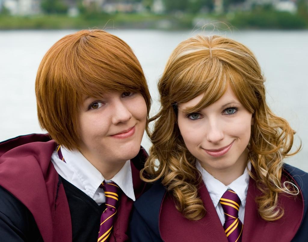 Hermione Granger und Rupert Weasley
