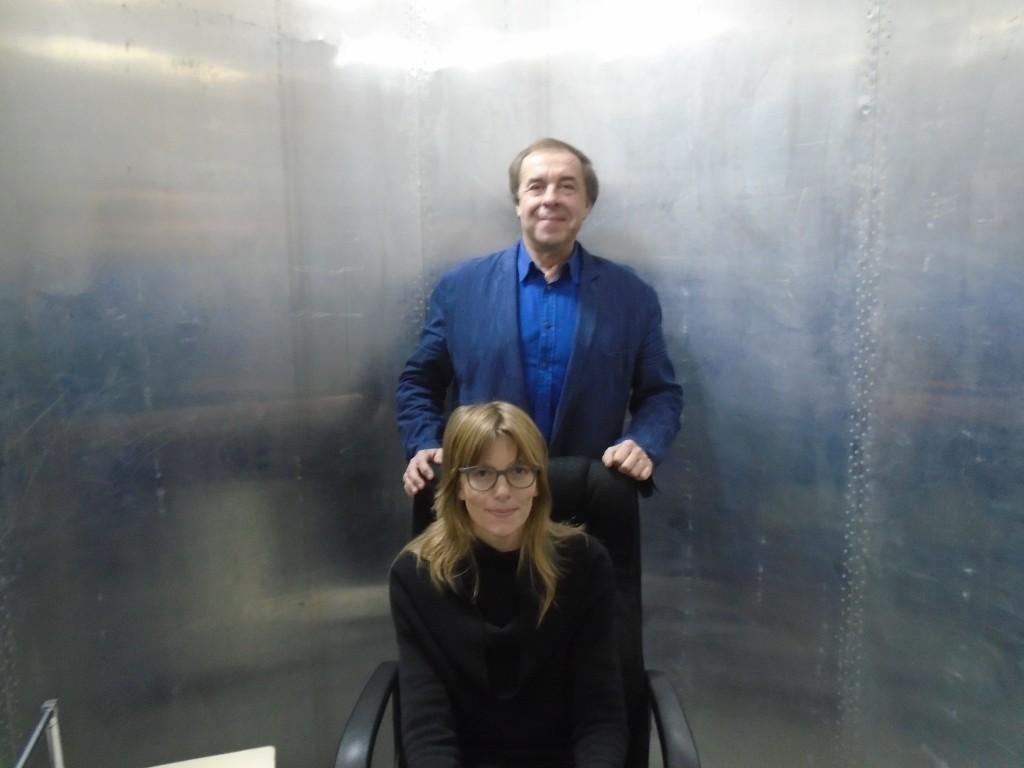 Alexander Trofimov und Sally McGrane im Kozyrew-Spiegel
