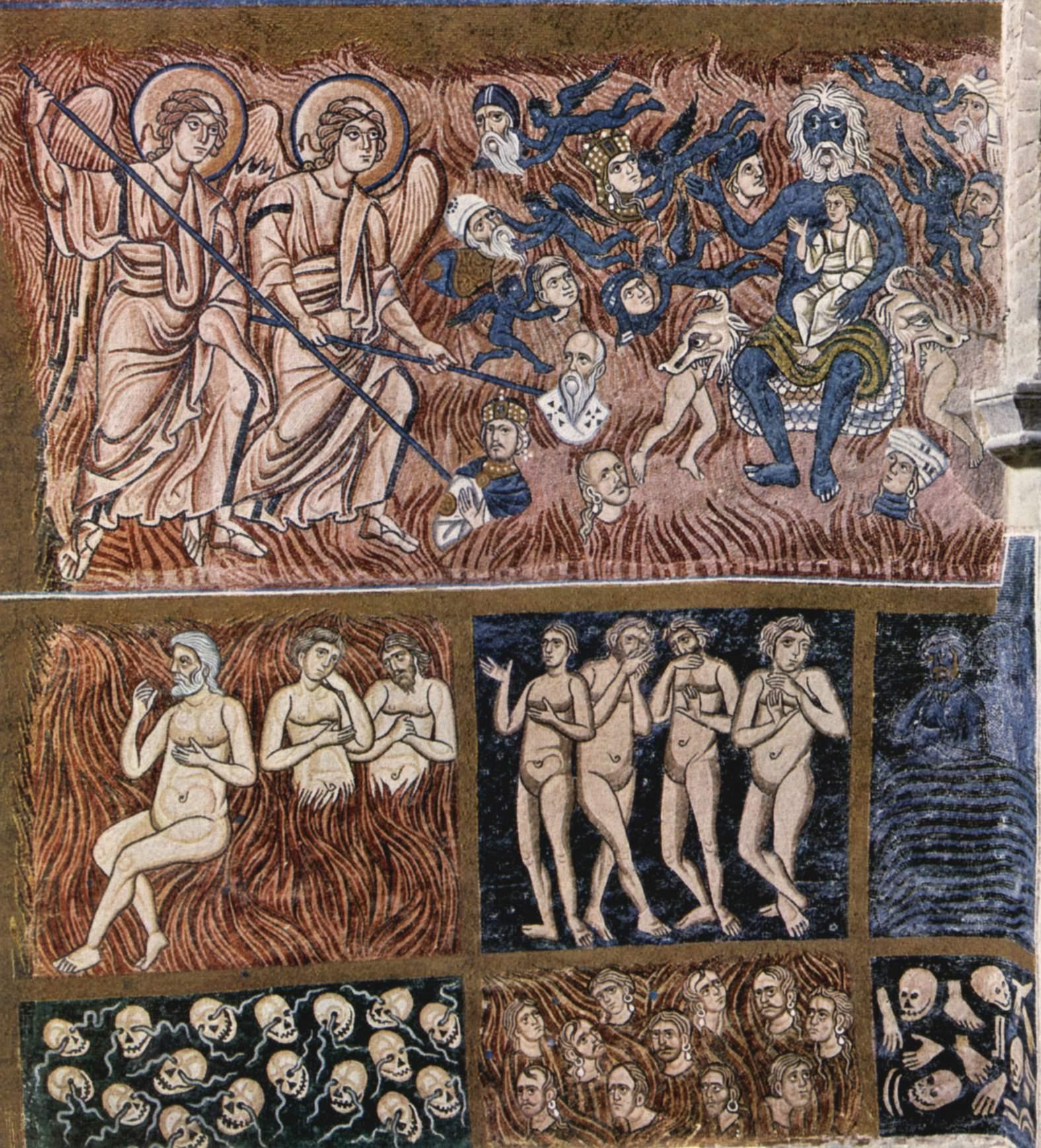 Mosaik an der Westwand der Basilika von Torcello, 12. Jahrhundert