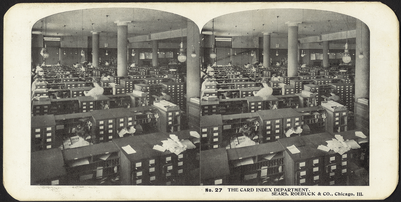The card index department