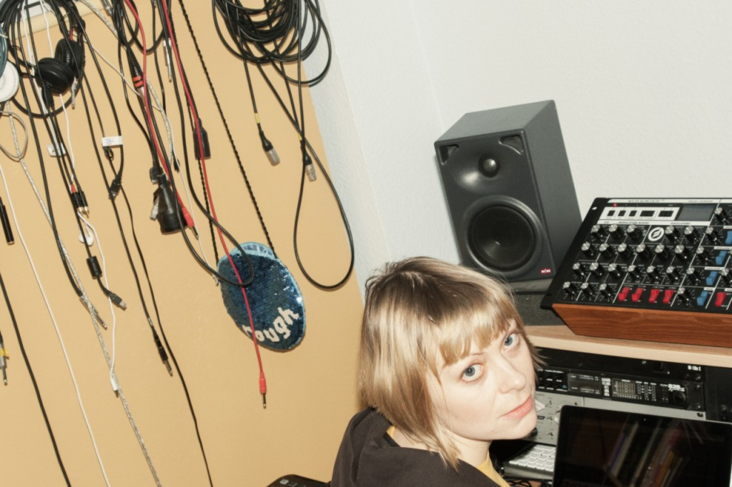 Lady Islaja: electronic music producer, writer and performer (photo: Obi Blanche)