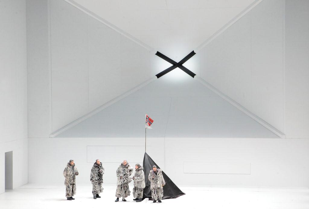 Ich nehme den Pol in Besitz, mit dem Recht des Entdeckers: Amundsen am Ziel.