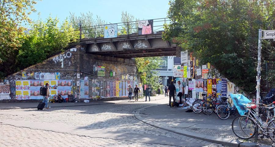 Das Ostkreuz (Friedrichshain)