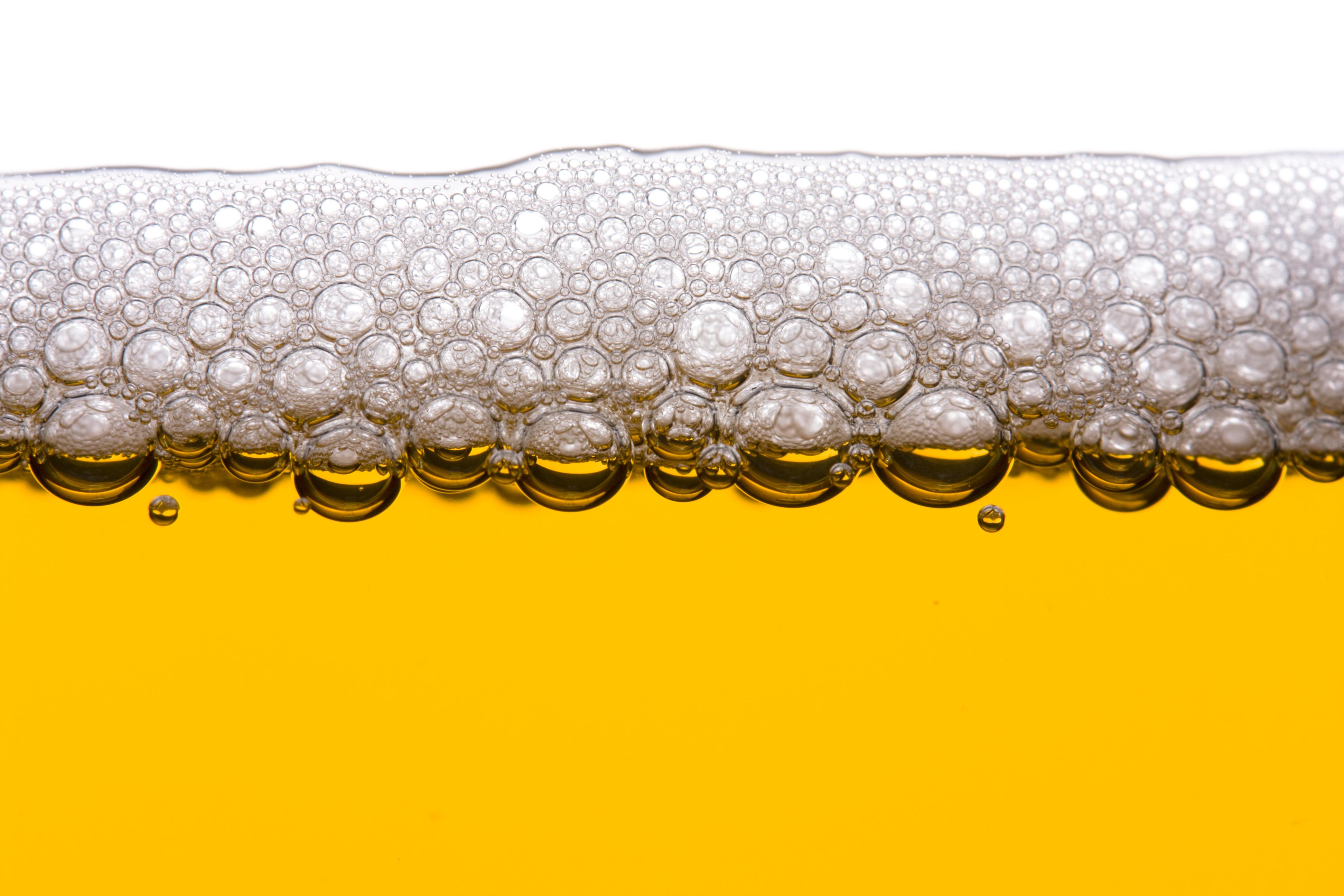 Detail von Bier in einem Glas | Verwendung weltweit