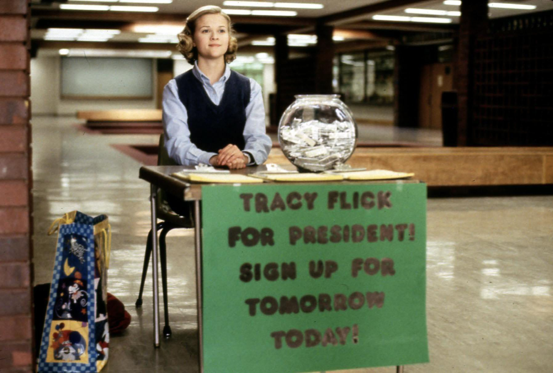 Election (1999) Tracy Flick (Reese Witherspoon) Regie: Alexander Payne , Paramount |
