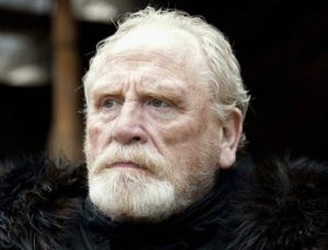 James Cosmo Television: Game of Thrones (Game Of Thrones) (TV-Serie, USA 2011-) 17 April 2011 SAB4412 A.P.L. Allstar Picture Library/Hbo **Achtung** Für dieses Bild gilt: Nur redaktionelle Nutzung, Copyright: Hbo und/oder der vom Rechteinhaber beauftragte Fotograf. Verwendung ausschließlich für redaktionelle Berichterstattung in Zusammenhang mit diesem Film und entsprechender Filmtitelnennung. Cover-, Buch-, Kalendernutzungen und ähnliches nur nach vorheriger individueller Absprache. Fotovermerk ist obligatorisch und muß den Hinweis Hbo enthalten. Sofern angegeben sollte auch Nennung des Fotograf erfolgen. Kommerzielle Nutzung jedweder Art ist untersagt, eine Freigabe ist nur möglich, wenn die schriftliche Genehmigung des Rechteinhabers eingeholt wird. **Warning** This Photograph is for editorial use only and is the copyright of Hbo and/or the Photographer assigned by the TV or Production Company & can only be reproduced by publications in conjunction with the promotion of the above TV Programme. A Mandatory Credit To Hbo is required. The Photographer should also be credited when known. No commercial use can be granted without written authority from the TV Company. Rollenname(n): Jeor Mormont
