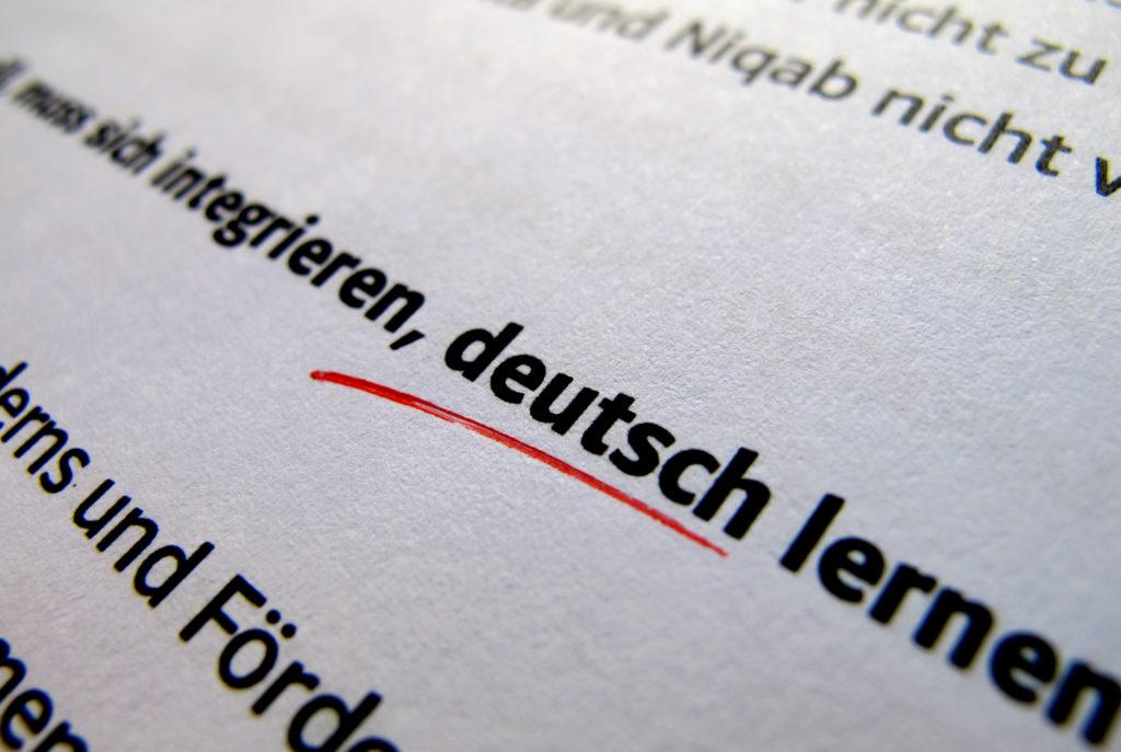 Rechtschreibfehler in CSU-Papier
