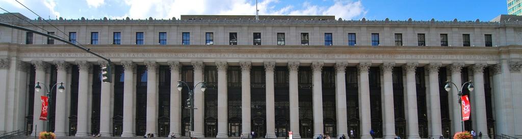 Seit 1982 ist das New Yorker Hauptpostamt nach James Farley benannt, dem Postminister unter Franklin Roosevelt.