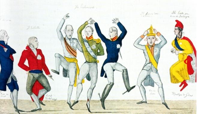 War der Wiener Kongress so'n richtiger altmodischer Ringelpiez? Das ist Interpretationssache.