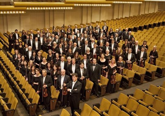 Alan Gilbert und die New Yorker Philharmoniker in der Avery Fisher Hall im Lincoln Center