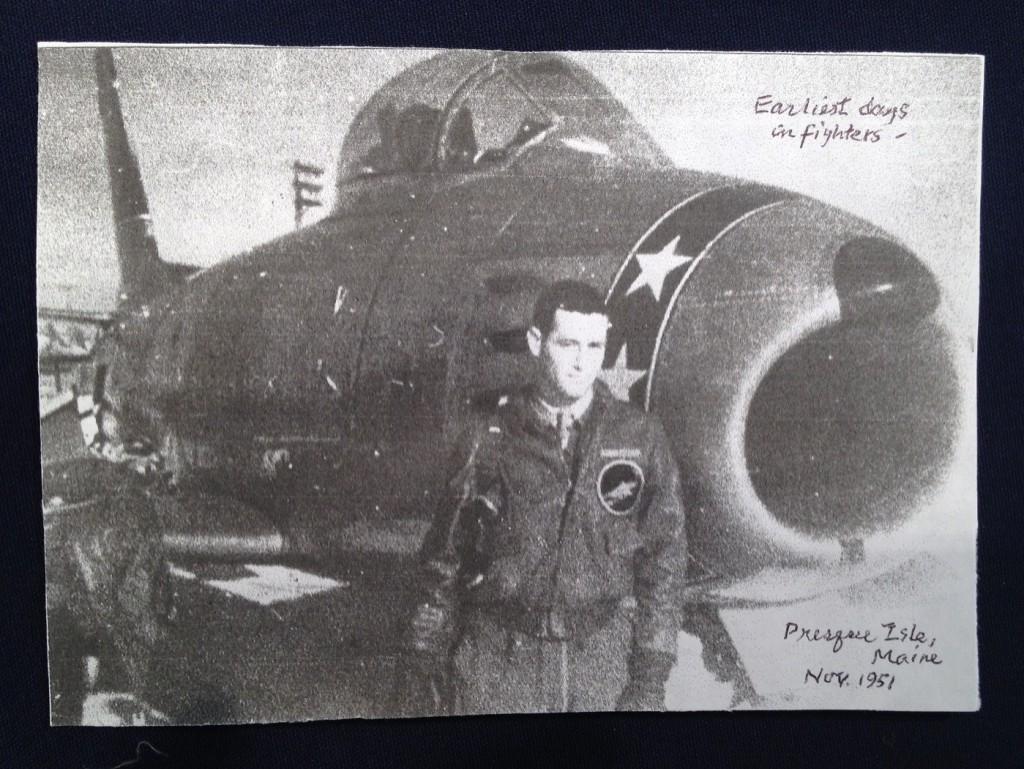 Im Zweiten Weltkrieg hatte Salter noch am Boden bleiben müssen.