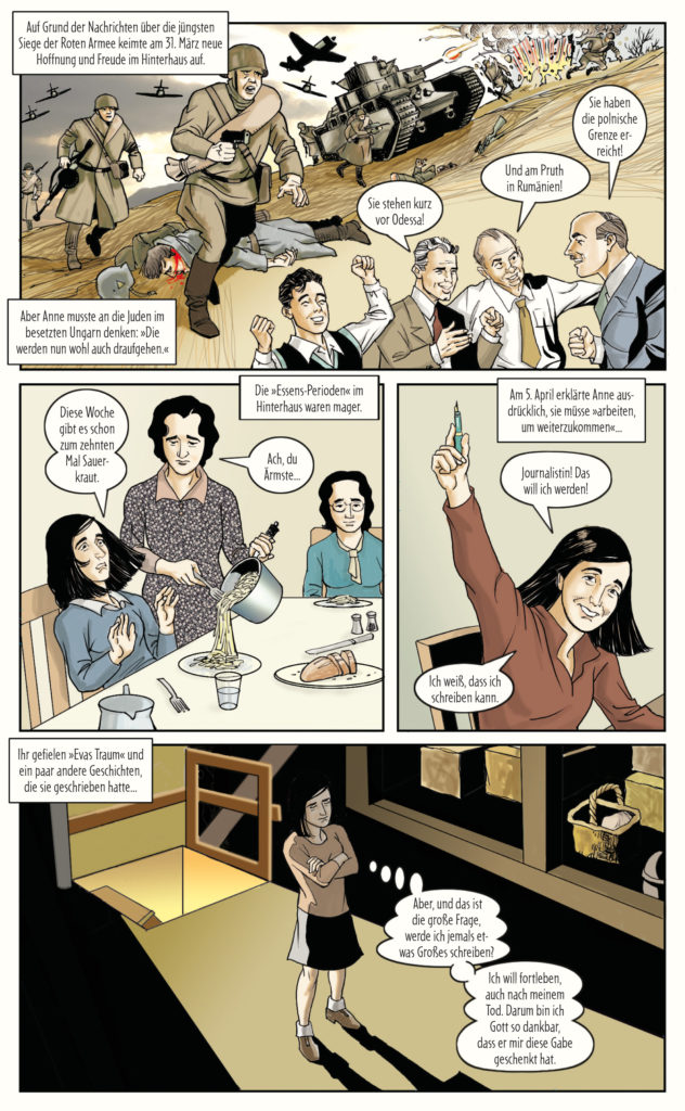 Hier Zeigt Anne Franks Tagebuch Auch Seine Freche Seite Comic