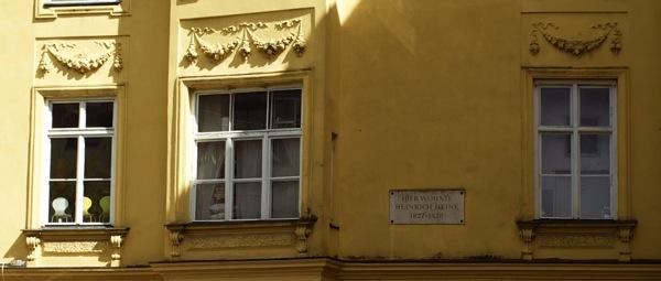Hier wohnte Heinrich Heine