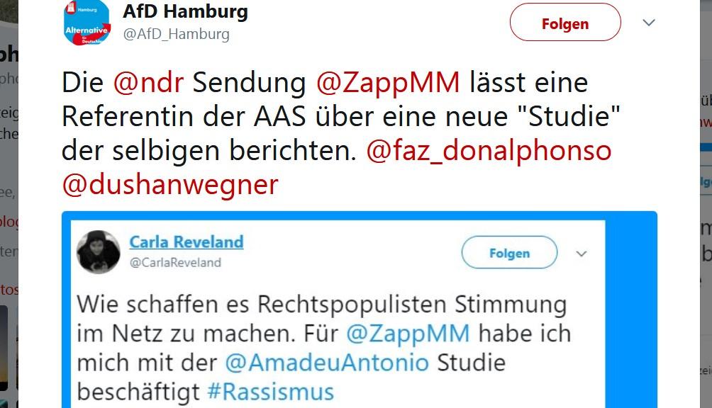 Wie Der Ndr Die Medienkritik Der Afd Bestätigt Deus Ex Machina