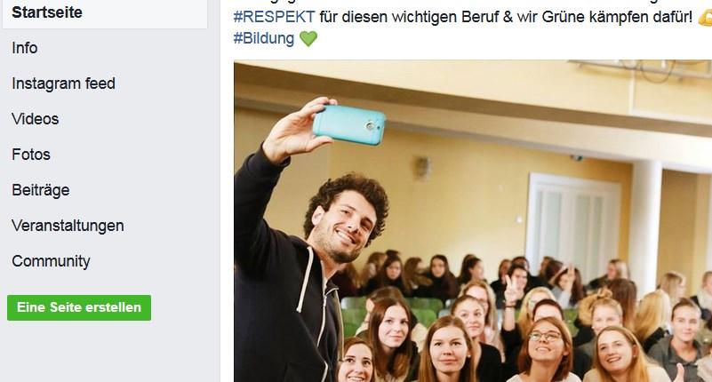 Mit grüner Selfiepolitik gegen Erfahrung und Substanz - Deus ex Machina