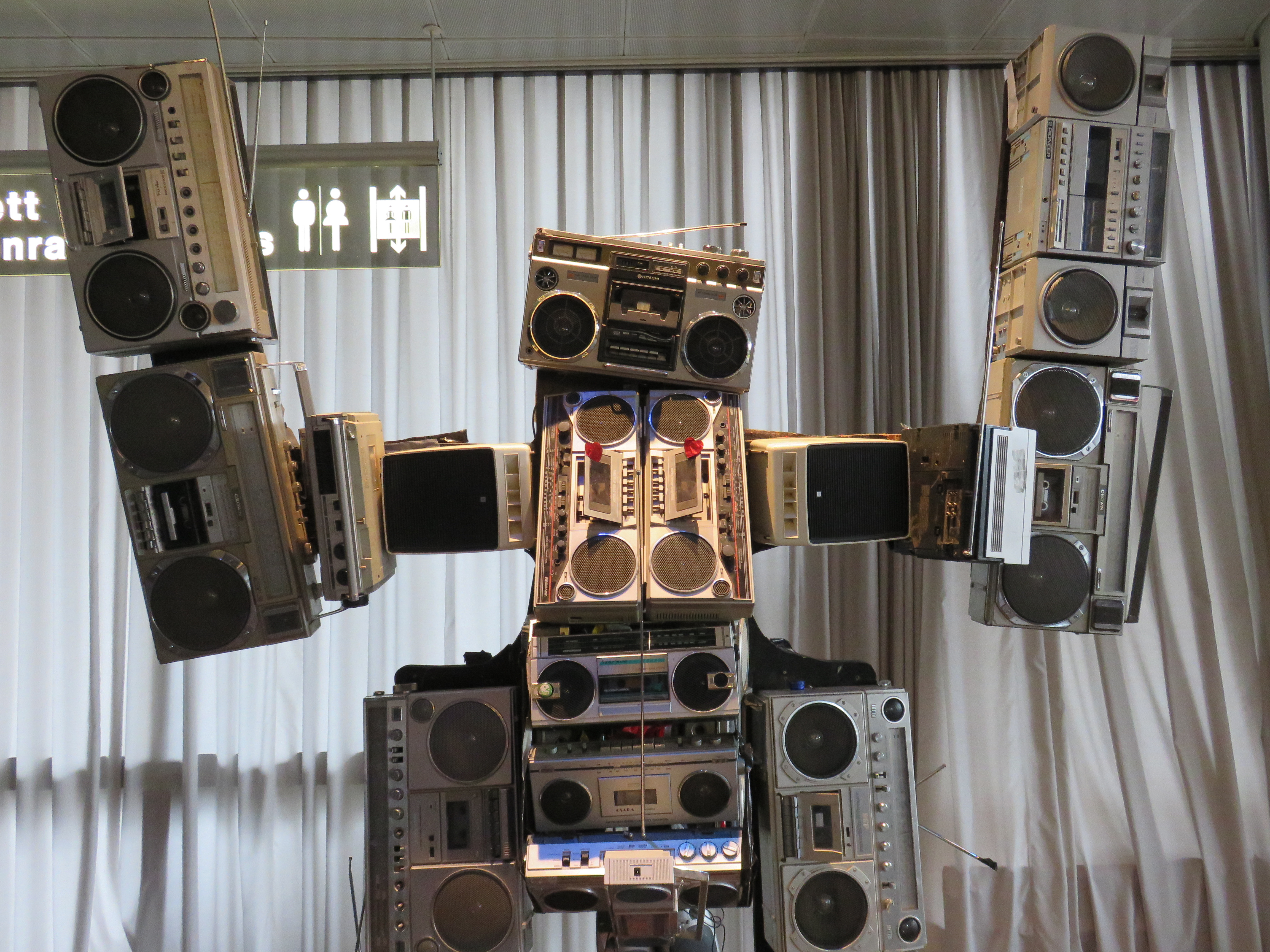 Roboter und Musik, das passt ganz gut
