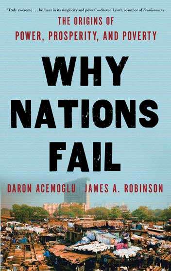 "Buchcover ""Why Nations Fail"""