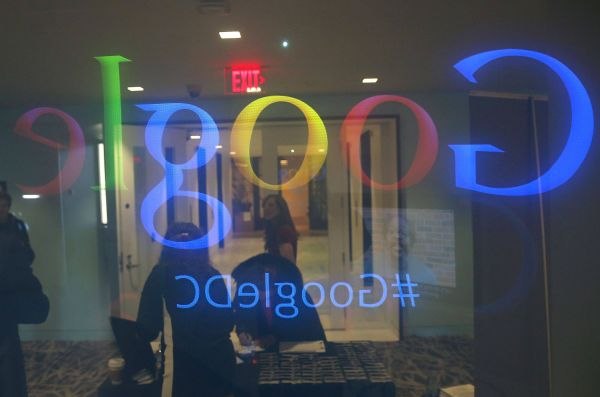 Im Google-Büro in Washington
