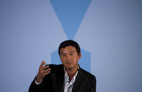 Thomas Piketty im Bundes-Wirtschaftsministerium.