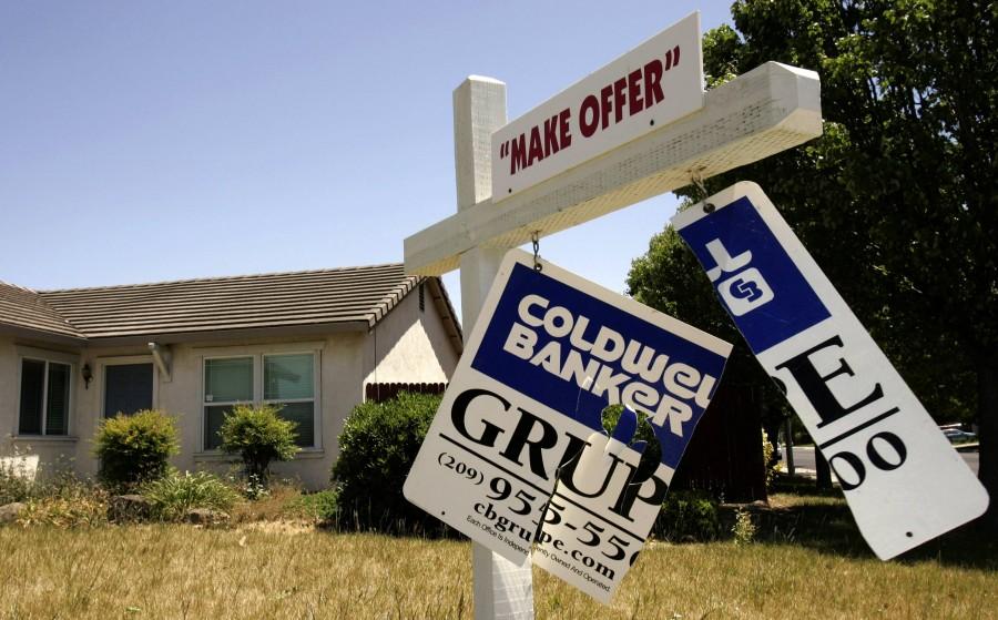 Während der Finanzkrise ließen sich viele Häuser nicht mehr verkaufen.