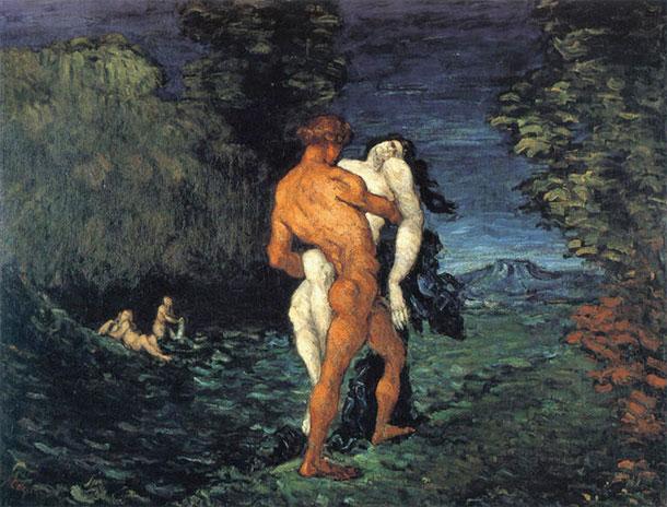 Cézanne: Die Entführung (L'Enlèvement)