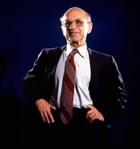 Milton Friedman im Jahr 1977