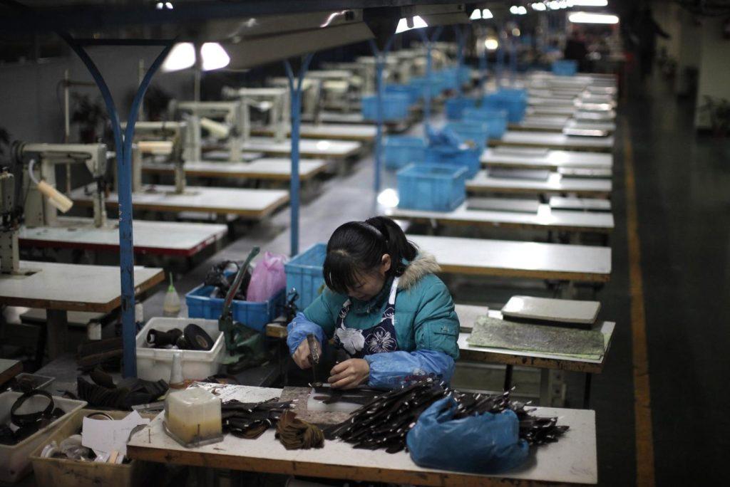 Im Sweatshop in Shenzen