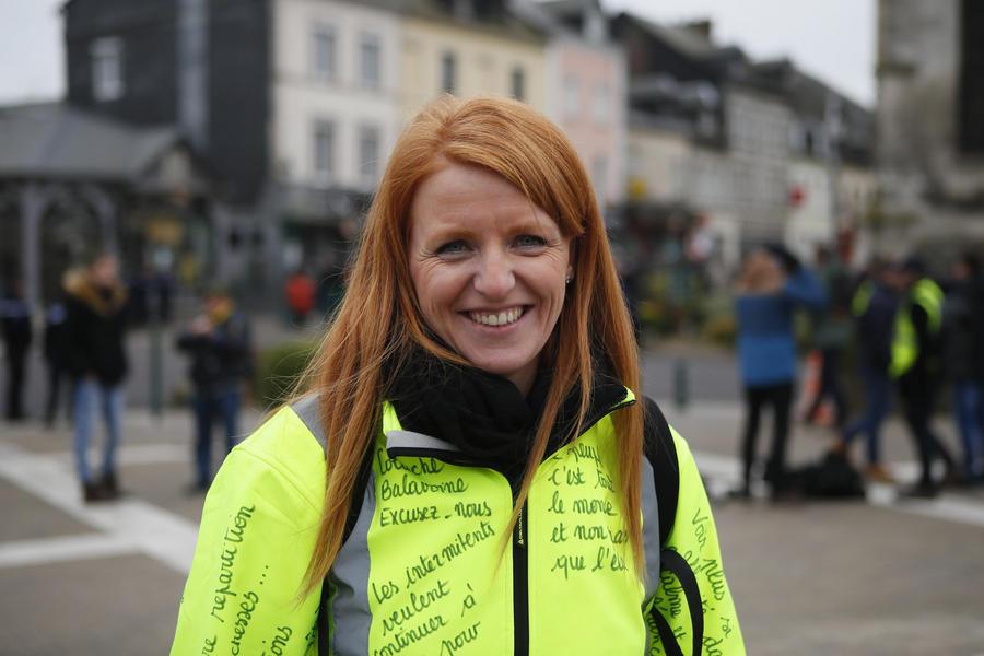 Gelbwesten-Sprecherin Ingrid Levavasseur stellt sich gegen Frankreichs Austerität