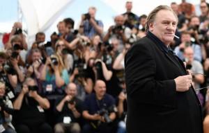 """Präsent: Gerard Depardieu beim Fototermin für den Film """"Chronic"""""""