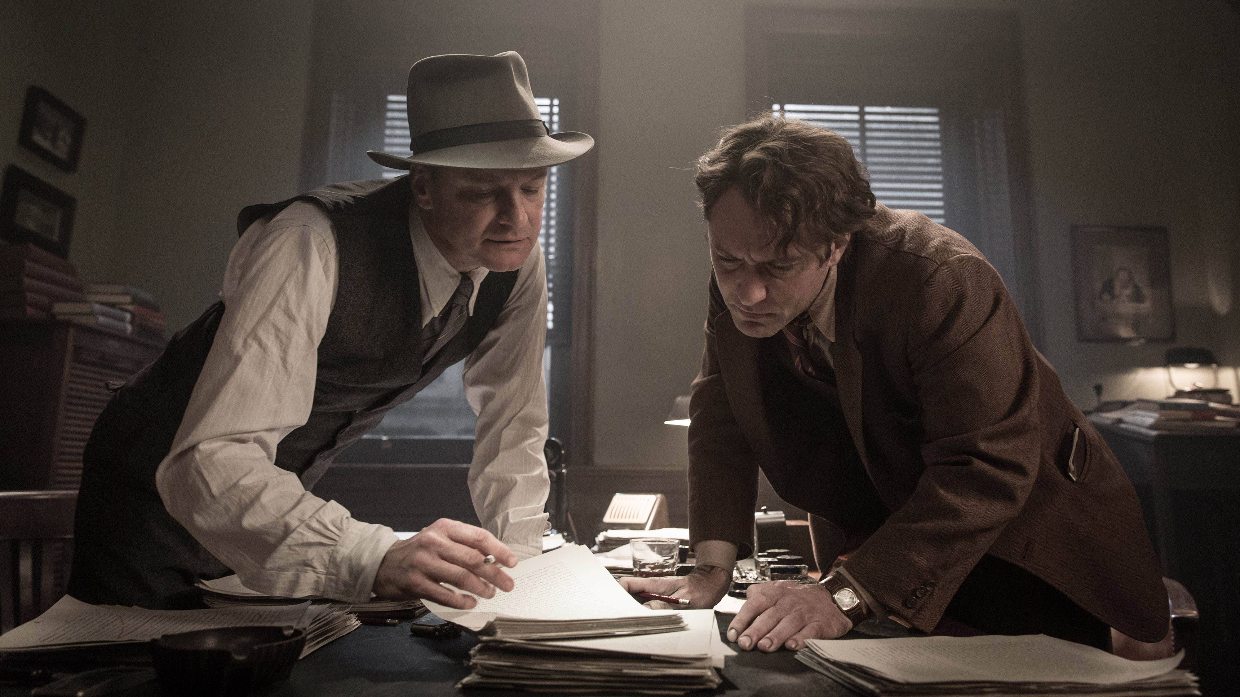 "Colin Firth und Jude Law in Michael Grandages ""Genius"""
