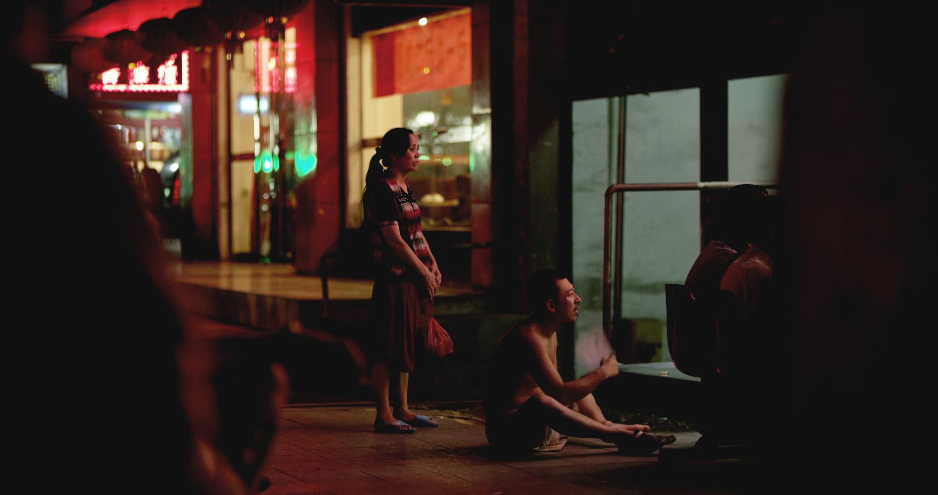 "Szene aus ""Bai Niao"" von Wu Linfeng"