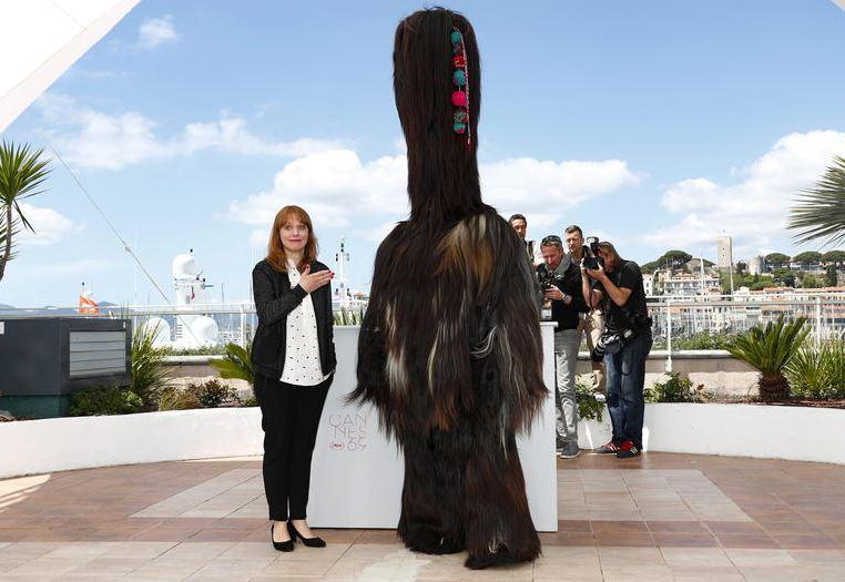 Maren Ade mit einem ihrer Darsteller: Gebt ihr die Palme!
