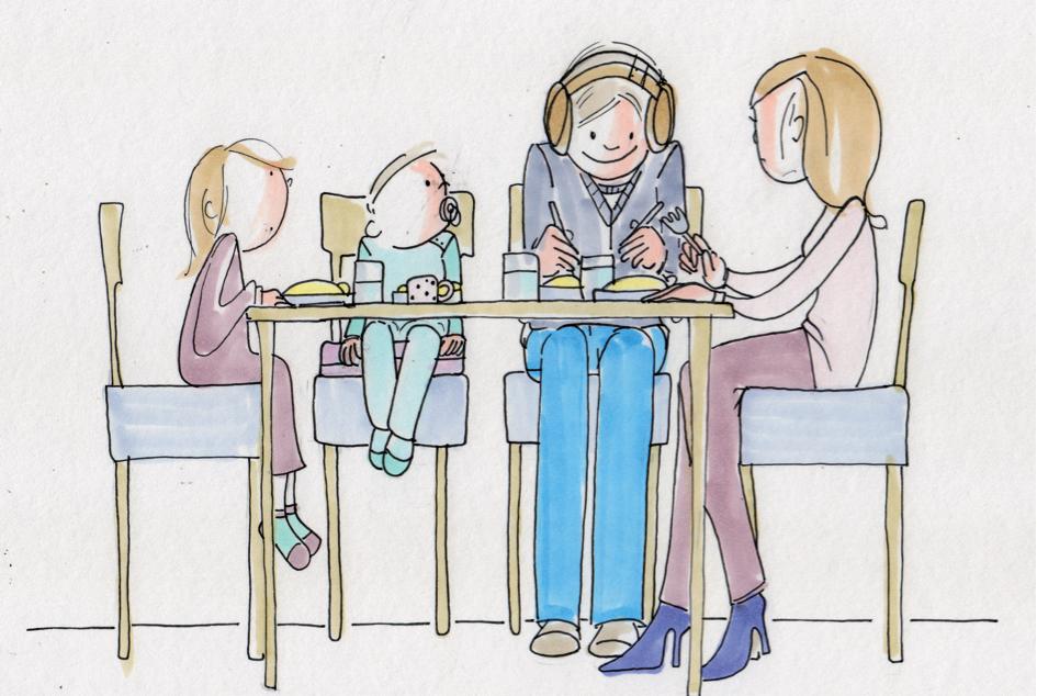 hilft bestens gegen Kaugeräusche: geräuschabschirmende Kopfhörer