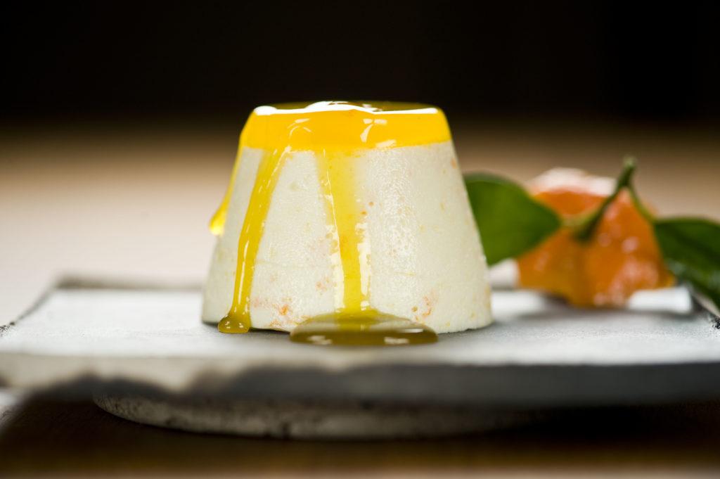 Mandarinen-Yoghurt-Mousse als Dessert