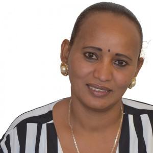 Mehret Tehlekaimanot Kidane, 34, aus Eritrea