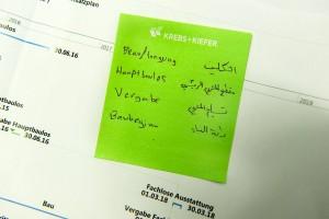 Gedankenstütze: Die nötigen Fachbegriffe auf Arabisch