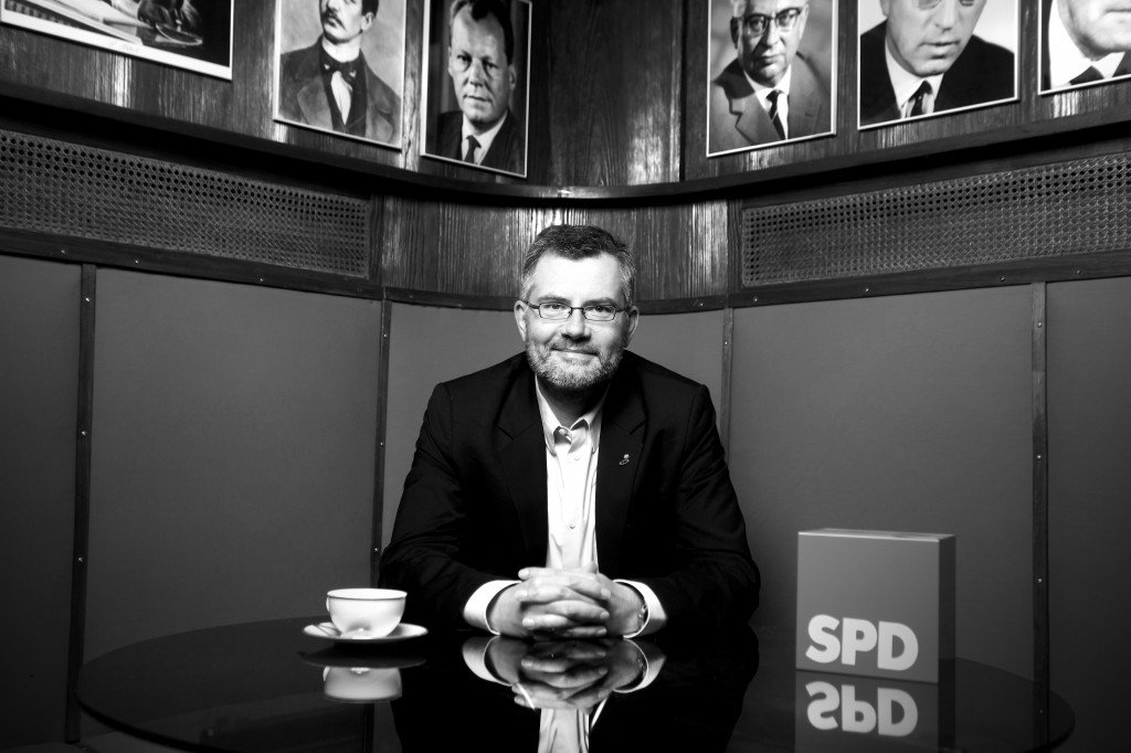 Neuer Schatzmeister der SPD: Dieter Nietan im Fritz-Erler-Haus in Düren