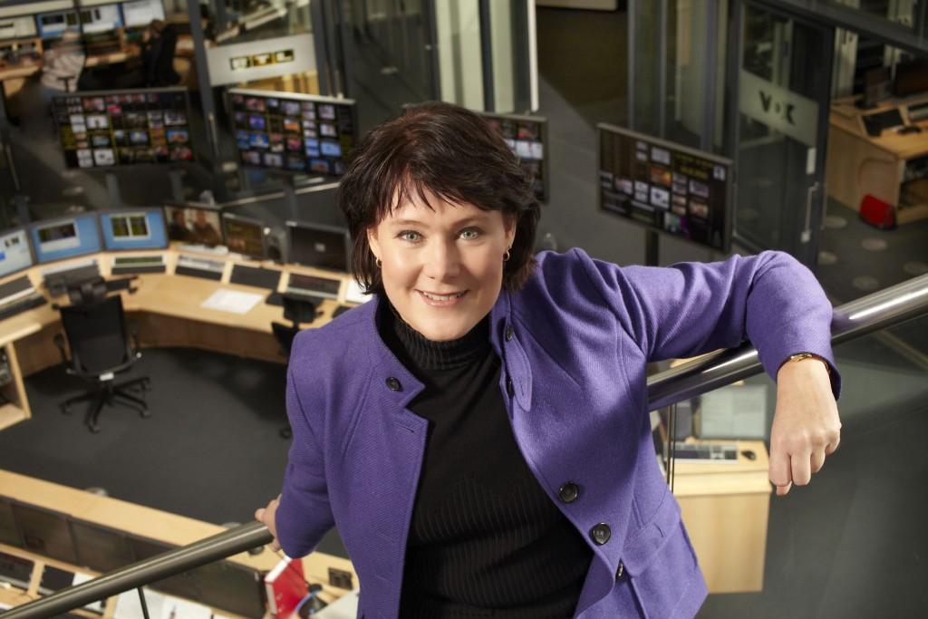 Anke Schäferkordt, Fernsehfrau