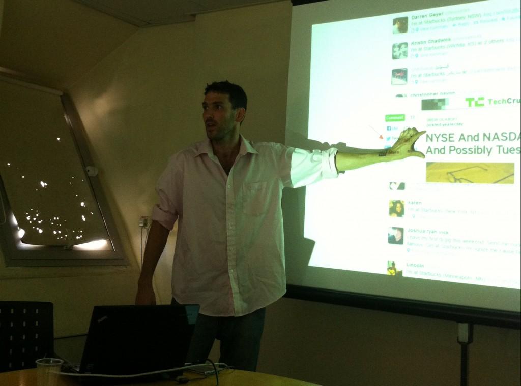 Das Start-up 12maas will die Kommunikation in sozialen Netzwerken erleichtern.