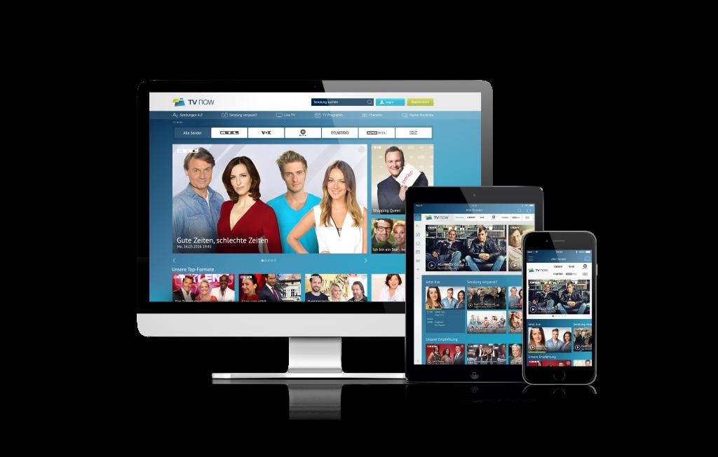 TV Now Plus: Eine App, die neu beginnt.