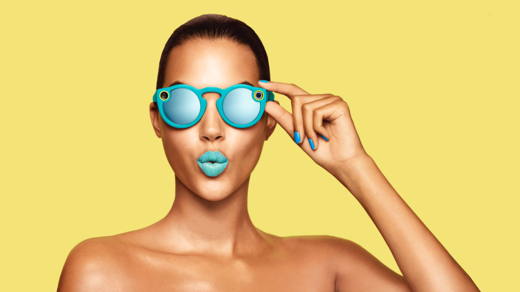 Eine Brille für Snapchat