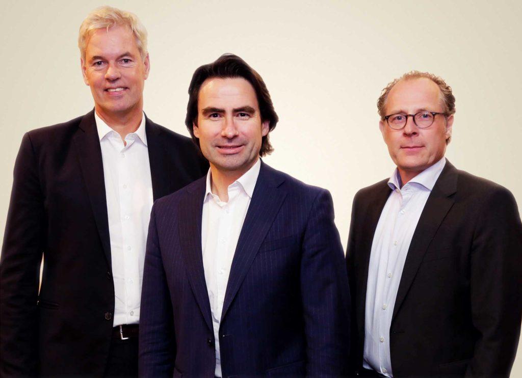 Vorstand der DuMont Mediengruppe:: Otto Christian Lindemann (von links), Christoph Bauer und Stefan Hütwohl