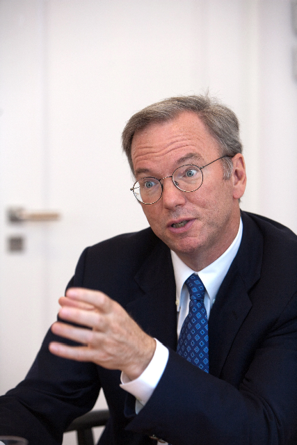 "Bild zu: Google CEO Eric Schmidt: ""A new opportunity for monetization of social networks"""