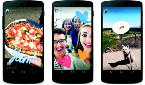 Snapchat oder Instagram? Sieht alles gleich aus.