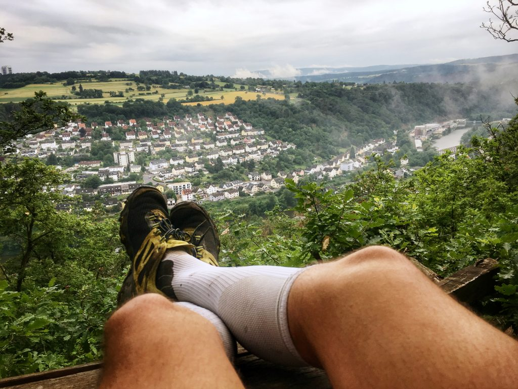 Ruhepause über dem Rhein