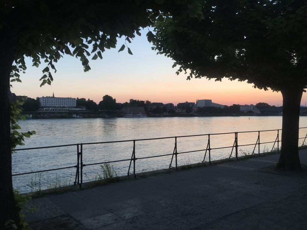 Bonn im Abendlicht