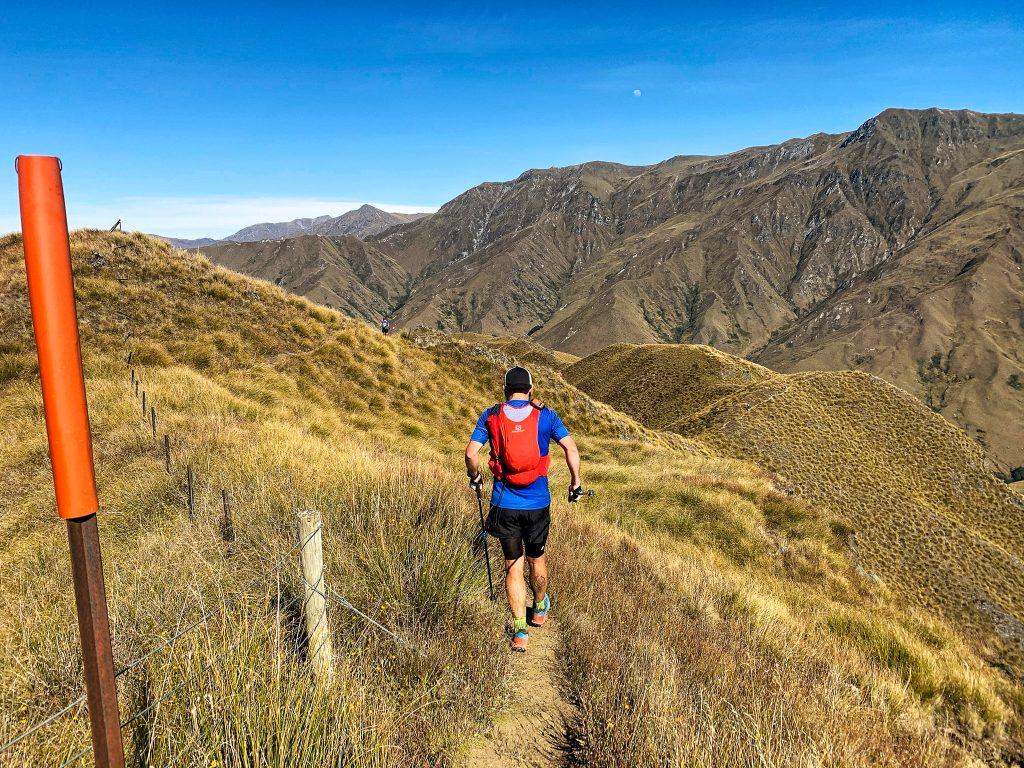 Läufer beim Motatapu Ultra Lauf