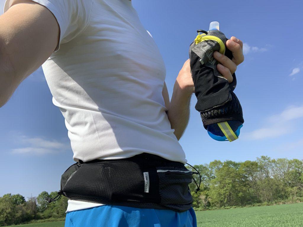 Handflasche und Gürtel für Läufer