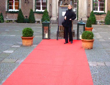 Bild zu: Roter Teppich für Bewerber